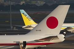 羽田空港へ政府専用機を見に行く