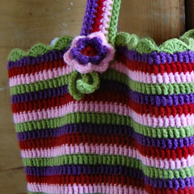 Knitting Pattern Lucy Bag : crochet Lucy bag Flickr - Photo Sharing!