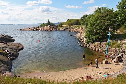 Suomenlinna beach - Helsinki