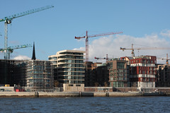 Hamburg HafenCity under construction (by: Henry Muhlpfordt, creative commons license)