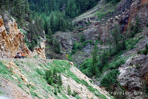 US Route 550 near Ouray Colorado