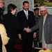 Helen Clark and Crown Prince Haakon in Nepal