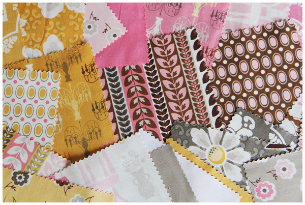 Fabric to use in the dollhouse