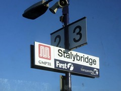 Arrival at Stalybridge