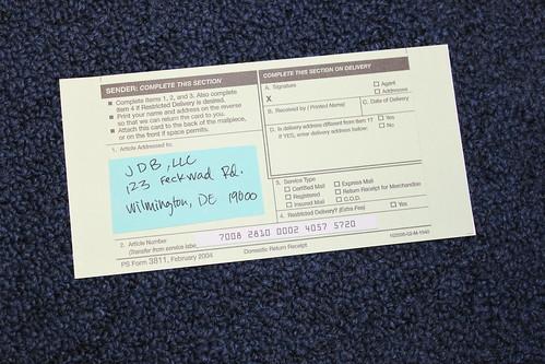 Visual Guide: Certified Mail Return Receipt Requested CMRRR - Credit Repair - Credit InfoCenter ...