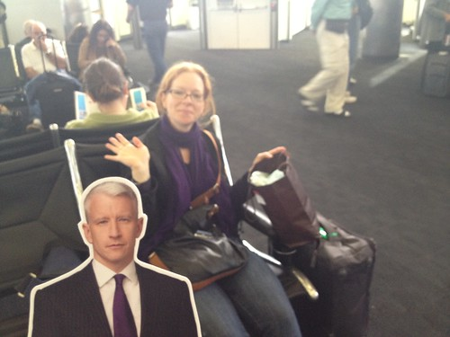 Flat Anderson Cooper