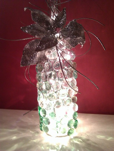 Wine {Bottle} Light by MeshedDesigns