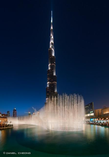 Mega Fountains for Mega Tower