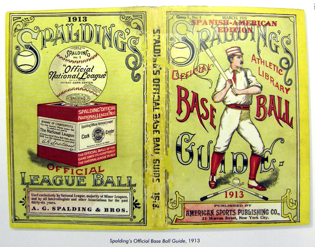 Spalding Baseball Guide 1913