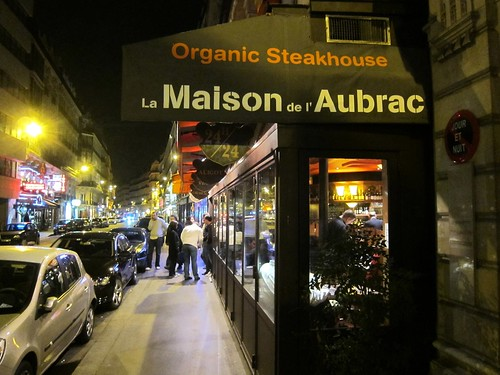Maison de l'Aubrac at night
