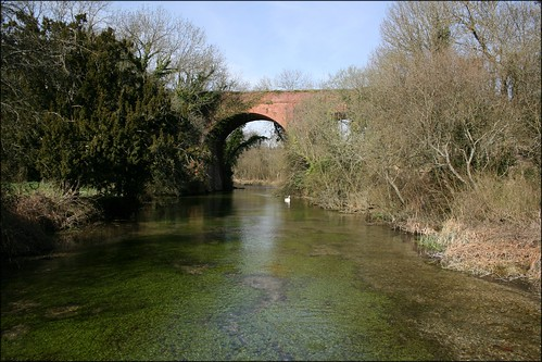 The River Test at Tufton
