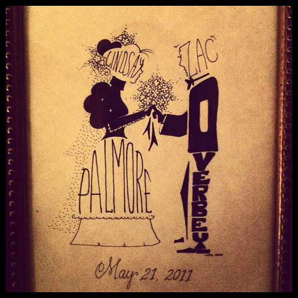 Sweet wedding gift #marchphotoaday #yourname