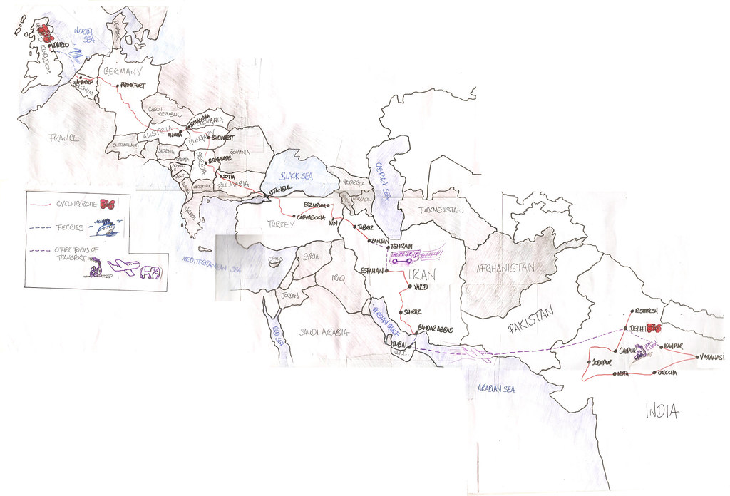 Map of My Journey