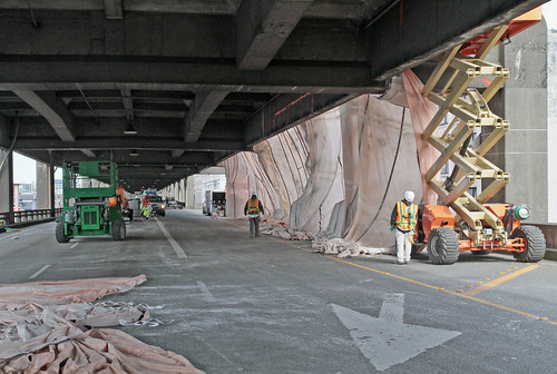 Preparing for tunneling - reinforcing the viaduct-2