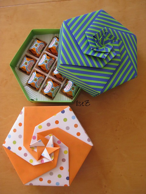 origami boxes7 - a gallery on flickr tommy clancy box tomoko fuse tutorial