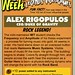 Geek A Week - Legends of Videogames: Alex Rigopulos (cardback)