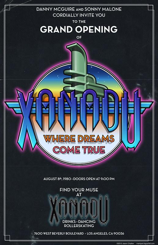Xanadu Grand Opening Poster