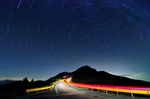 Star Trails 石門山星軌@合歡