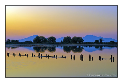 travel sunset sea sky mountains nature colors weather landscape island kos greece