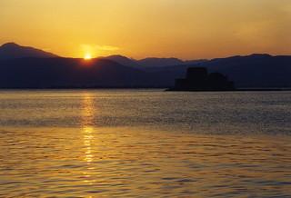 Nafplio, sunset