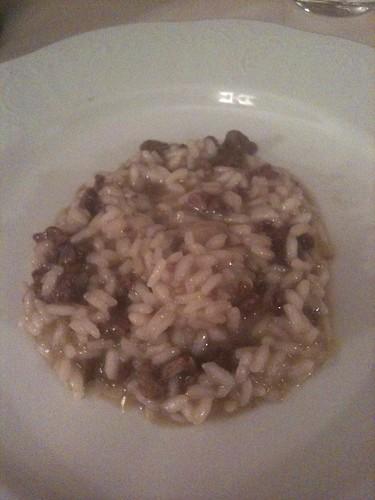 Ai Gondolieri, arroz con hígado