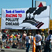 Protesting Bank Of America's Race To Pollute Chicago