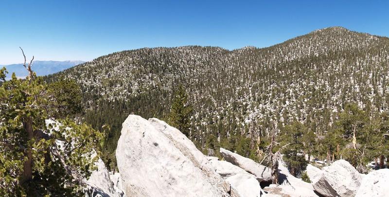 Folly and San Jacinto from Newton Drury Peak