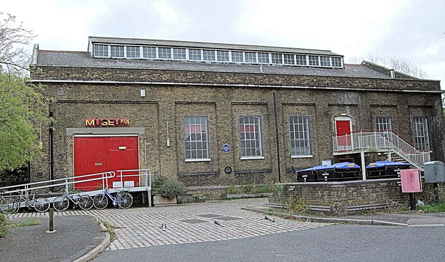 The Pumphouse Educational Museum, Rotherhithe - London.