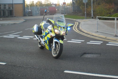 North Wales Police Yamaha YZF-R6 Roads Policeing Unit CX57 AKY