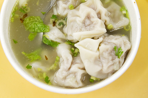 Good wontons, too!