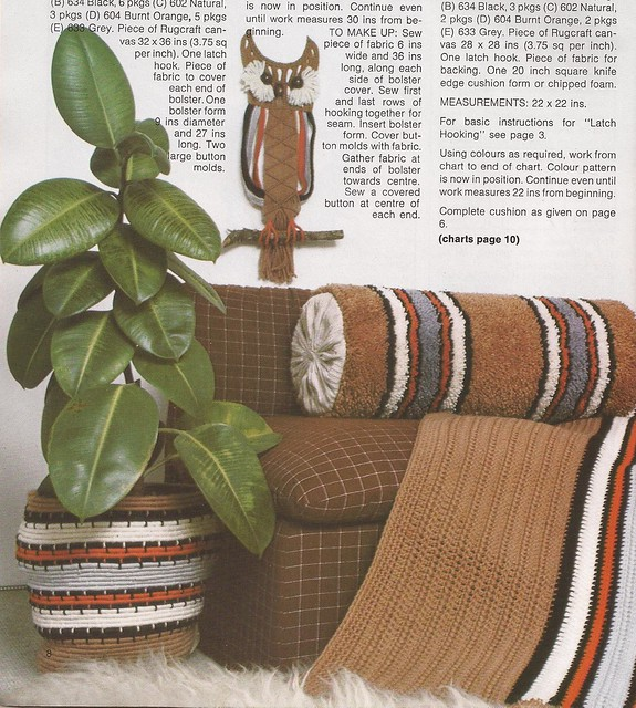 craft yarn Macrame Owl Patons Craft Book Beehive Book No502 Patons & Baldwins Ltd no date