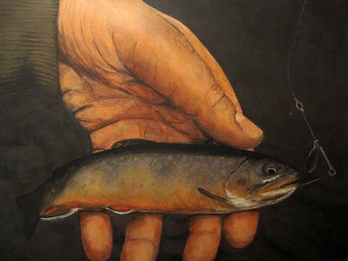 Embrace (Brook Trout from Cooks Run in May 2011)