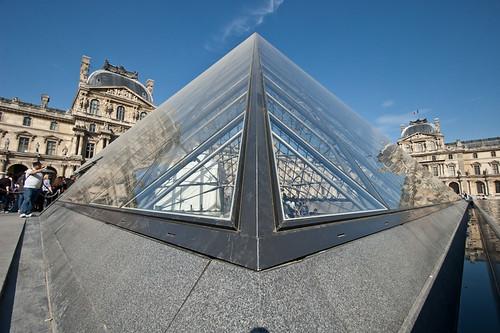 Las Pirámides del Museo del Louvre