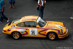 Racing Porsche Yellow