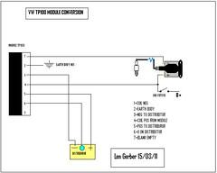 Tp 100 Module Wiring Diagram:  Len Gerber ,Design