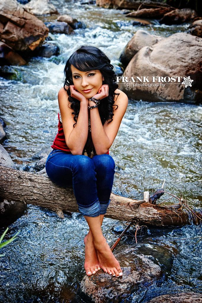 Albuquerque Senior Photographer Frank Frost Photography Portraits Outdoor River