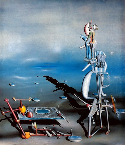 Yves Tanguy - Indefinite Divisibility, 1942 at Albright-Knox Art Gallery Buffalo New York