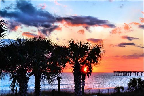 sunset gulfofmexico florida panamacitybeach nikond3100 nikkor1855afsvrlens