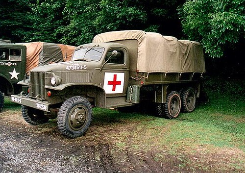 Chevy 6 x6 Medic at Highley 2003