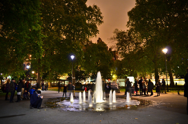 Russell Square Fountains