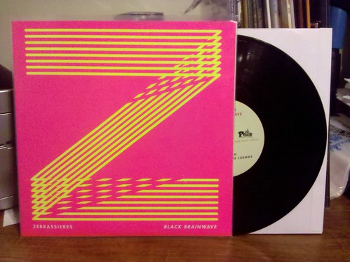"Zebrassiers - Black Brainwave 10"" - Screened Cover /100"