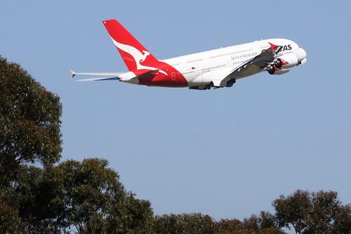 Qantas A380 VH-OQF