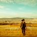 Checking out the view from Castillo de Montjuic, Barcelona by mypickle