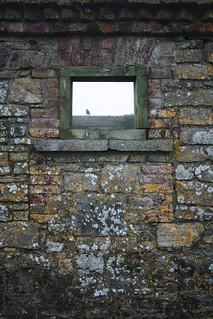 Attēls no Charles Fort pie Kinsale. ruins foreboding stonework kinsale frame lichen raven charlesfort