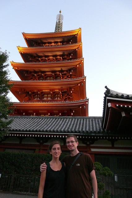 Con la pagoda