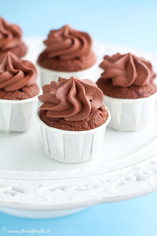 Cupcakes al caffé e cioccolato