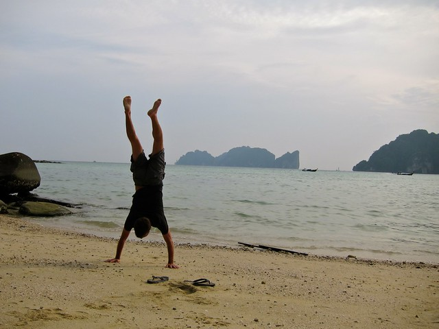 Koh Phi Phi Don Handstand