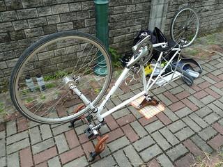 Perished tire