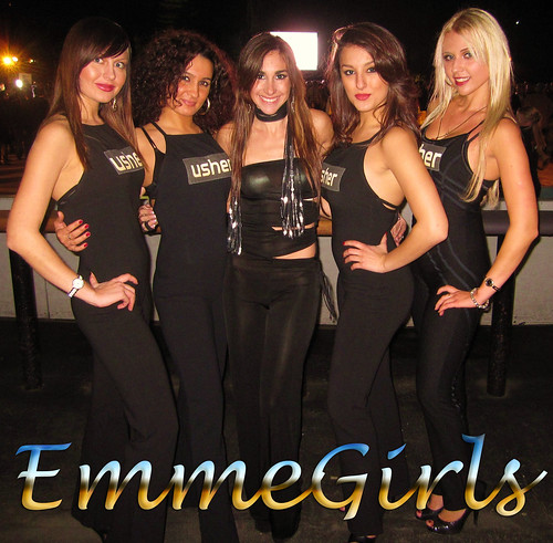 EmmeGirls at Adweek Trade Show Wrap Party NYC by Trade Show Models