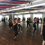 Here's a peek at the NYC studio. Clients are rocking the method and dance cardio routine so hard!